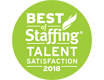 Best of Staffing Talent Satisfaction 2018